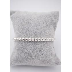 Armband elastisch silber...