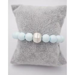 Armband elastisch aqua und...