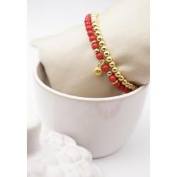 Armband 2er Set in rot und...